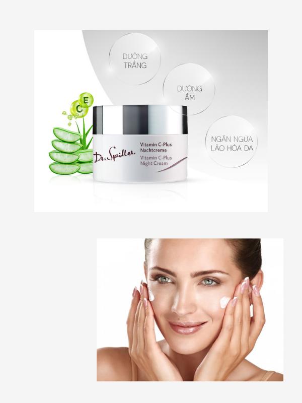 Công dụng và cách sử dụng của Dr Spiller Vitamin C Plus Night Cream.