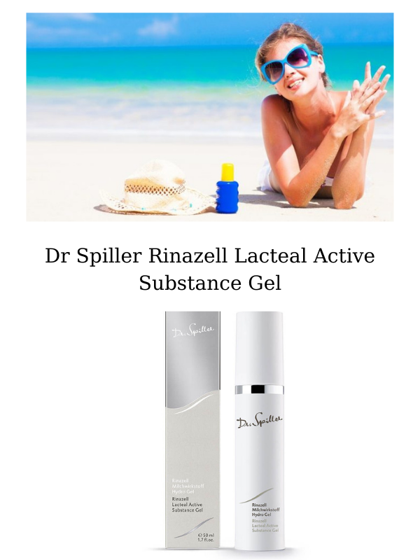 Gel dưỡng phục hồi, giảm đỏ da, ngừa cháy nắng Rinazell Lactead Active Substance Gel