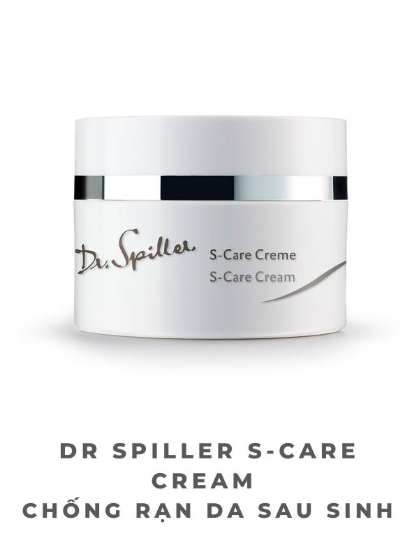 Dr Spiller S-Care Cream chống rạn da trước và sau sinh hiệu quả