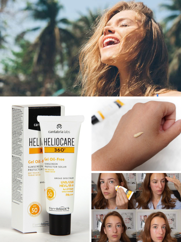 """Heliocare 360 gel oil-free SPF 50 - """"Trợ thủ đắc lực"""" bảo vệ da chống tác hại tia UV"""
