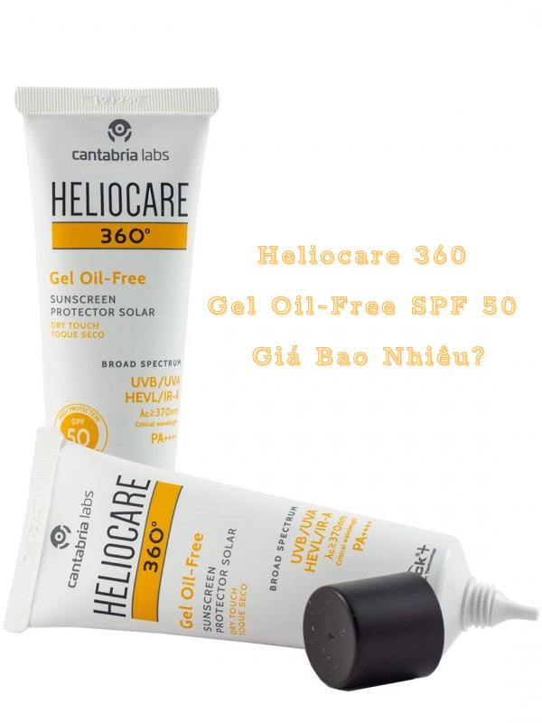 Heliocare 360 gel oil-free SPF 50 giá bao nhiêu?