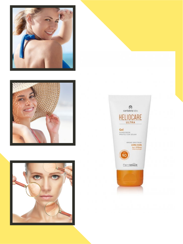Heliocare Ultra Gel SPF 90 chống nắng tối ưu, đẩy lùi các dấu hiệu lão hóa