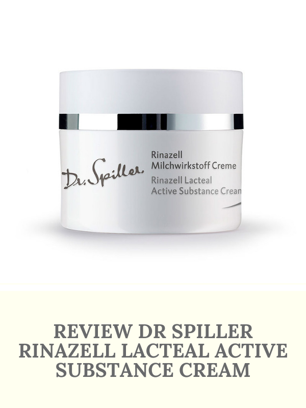 Review Dr Spiller Rinazell Lacteal Active Substance Cream