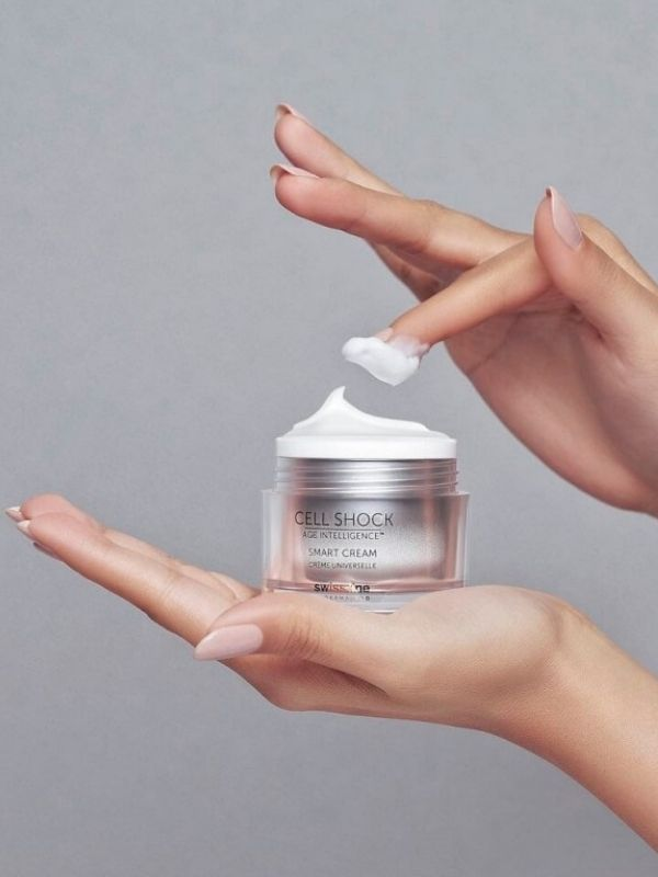 Review chi tiết Swissline Cell Shock Age Intelligence Smart Cream