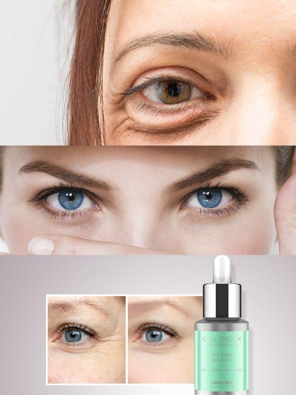Swissline Eye Zone Booster là giải pháp dành cho đôi mắt thâm quầng, nếp nhăn cần cải thiện...