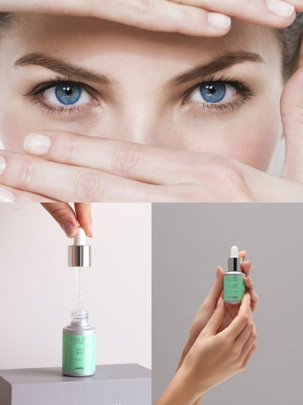 Swissline Cell Shock Eye Zone Booster khắc phục hiệu quả quầng thâm, nếp nhăn mắt