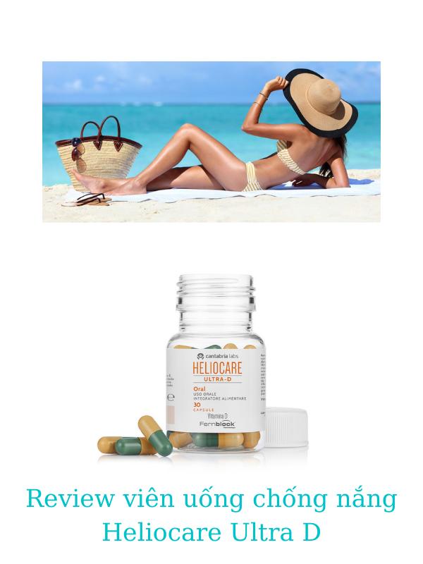 Viên uống chống nắng Heliocare Ultra D mang lại nhiều công dụng cho da