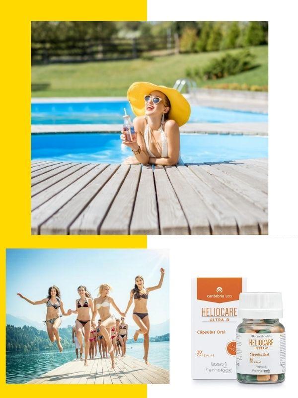 Heliocare Ultra D chống nắng bảo vệ da toàn diện từ bên trong