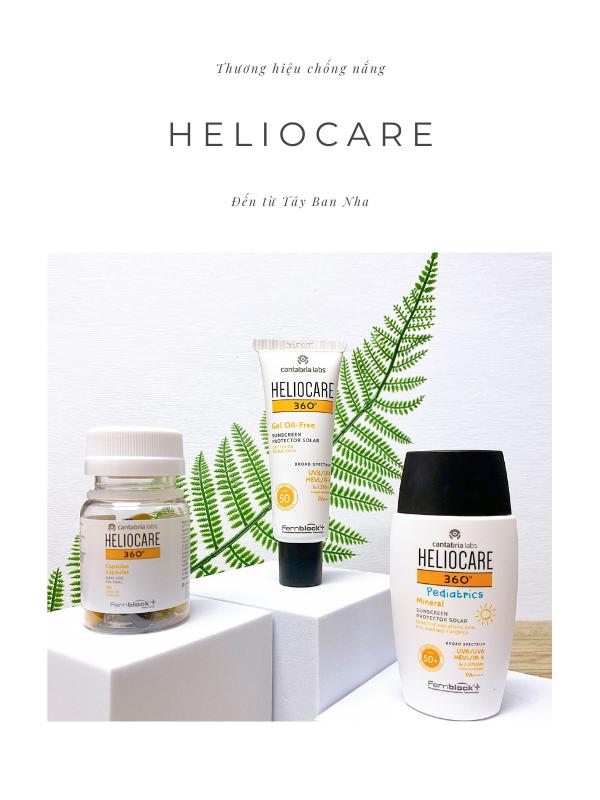 Heliocare là thương hiệu chống nắng danh tiếng của Tây Ban Nha.