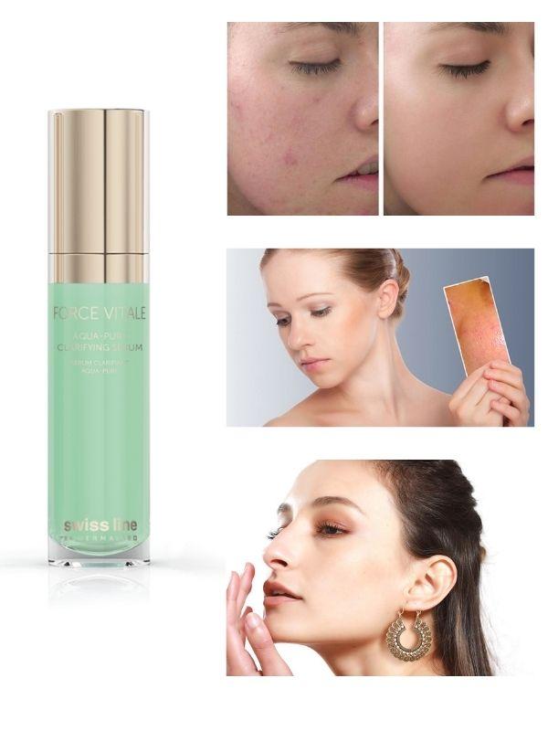 Swissline Aqua-Pure Clarifying Serum đem lại những công dụng nổi bật cho da